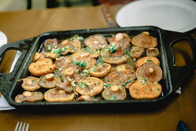 Taste wild mushrooms from Catalonia