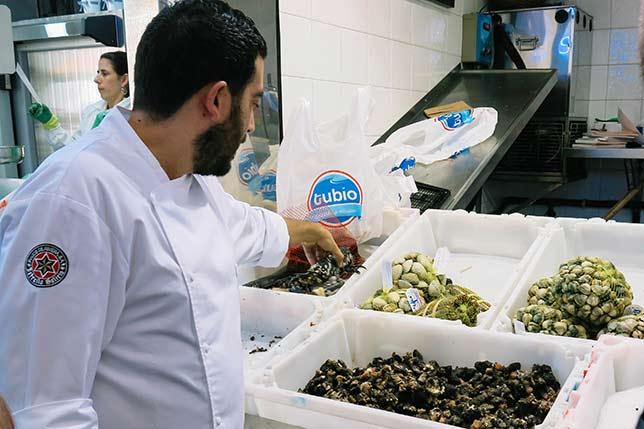 Chef mrket tour in Spain
