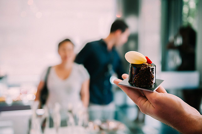 Our tour combines traditional and modern chocolate makers from Barcelona