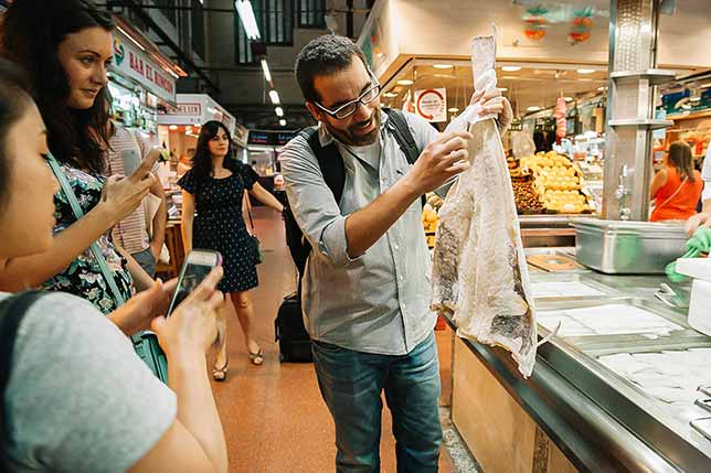 Explore local markets with experts from Barcelona
