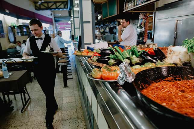 Barcelona has dozens of local restaurants out of touristy areas