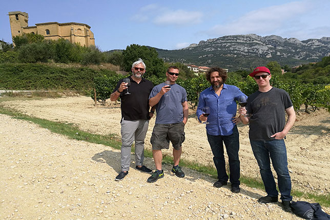 Winemakers and amazing landscapes around Spain